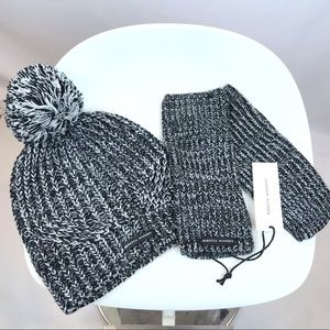 Rebecca Minkoff hat & handwarmers set, NEW!